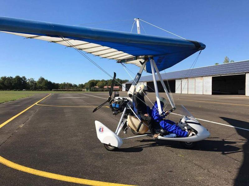 ulm occasion DTA - Voyageur 2 - Rotax 912s (100cv) - aile Dynamic 15_