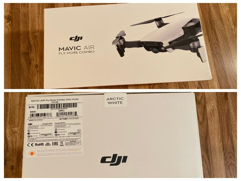 ulm occasion  -  -  MAVIC AIR FLY MORE COMBO (AN) Onyx Black